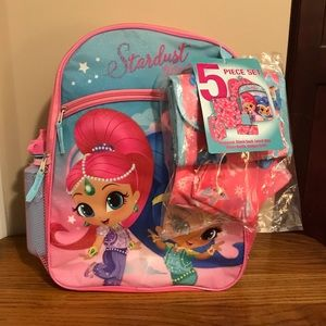 Shimmer and Shine 5 Piece Backpack Set